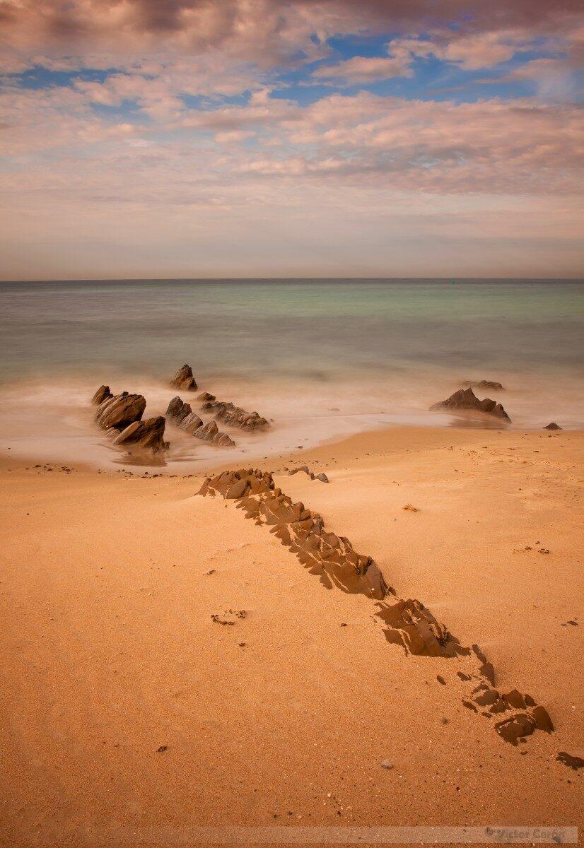 Apuntando al mar